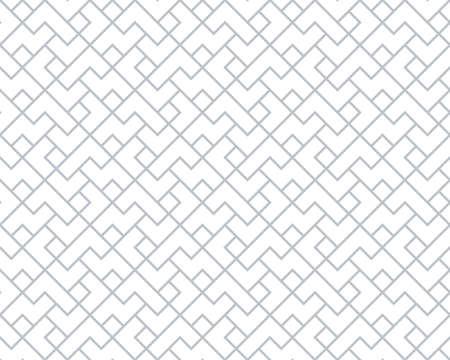 The geometric pattern with lines . Seamless vector background. White and grey texture. Graphic modern pattern