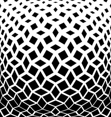 Abstract geometric pattern. Vector background. White and black halftone. Graphic modern pattern. Simple lattice graphic design