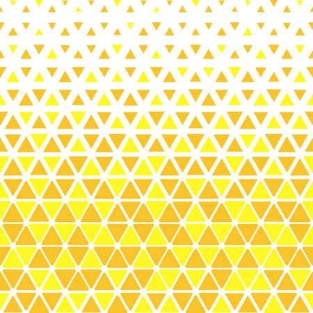 Abstract geometric pattern. Vector background. Yellow and gold halftone. Graphic modern pattern. Simple lattice graphic design