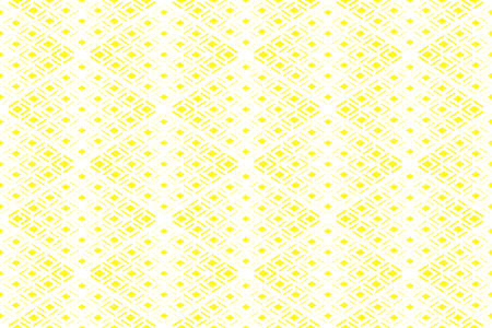Abstract geometric pattern. Seamless vector background. White and yellow halftone. Graphic modern pattern. Simple lattice graphic design