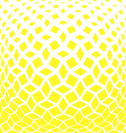 Abstract geometric pattern.Vector background. White and yellow halftone. Graphic modern pattern. Simple lattice graphic design