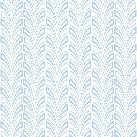Abstract geometric pattern. A seamless background. Blue and white graphic pattern.