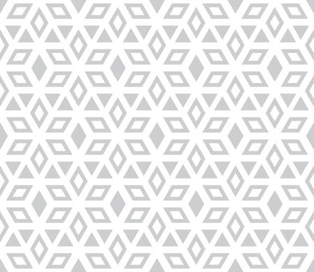 Abstract geometric pattern. A seamless vector background. White and grey ornament. Graphic modern pattern. Simple lattice graphic design. Imagens - 106153681