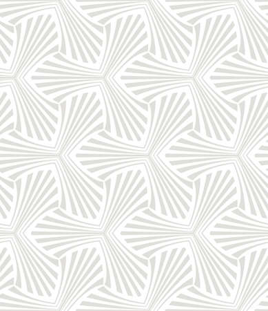 Flower geometric pattern. Seamless background. White and grey ornament. 写真素材