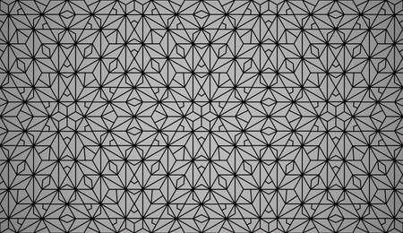 Le motif géométrique avec des lignes. Fond vectorielle continue. Texture noire. Motif graphique moderne. Conception graphique simple en treillis