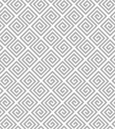 Abstract geometric pattern with stripes, lines. A seamless background. White and grey ornament.
