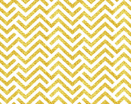 The geometric pattern by stripes . Seamless background. Gold and white texture