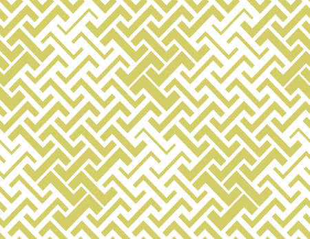 Abstract geometric pattern. seamless background. White and yellow ornament. Graphic modern pattern