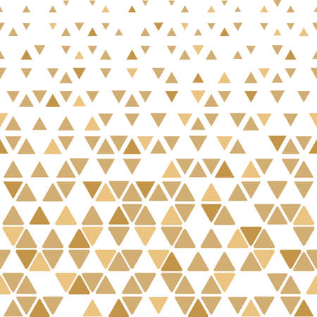 Abstract geometric pattern. background. White and gold halftone. Graphic modern pattern. Simple lattice graphic design Stock Photo