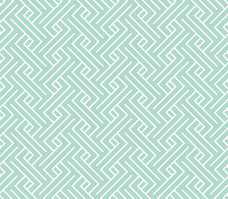 Abstract geometric pattern with stripes, lines. Seamless background. White and blue ornament. Simple lattice graphic design