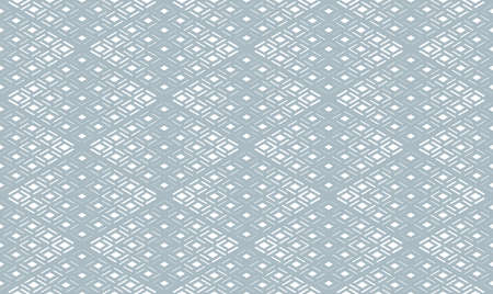 Abstract geometric pattern. Seamless background. White and blue halftone. Graphic modern pattern. Simple lattice graphic design Stock Photo