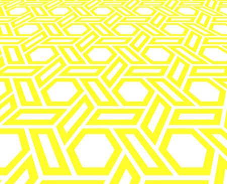Abstract geometric pattern. background. White and yellow halftone. Graphic modern pattern. Simple lattice graphic design 版權商用圖片