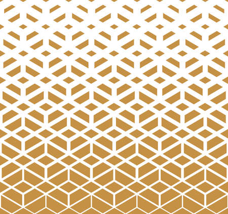 Abstract geometric pattern. background. White and gold halftone. Graphic modern pattern. Simple lattice graphic design 版權商用圖片