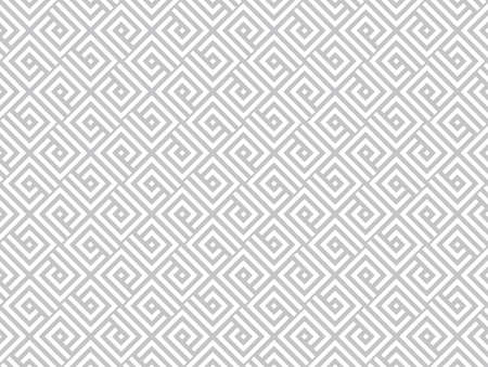 Abstract geometric pattern. A seamless vector background. White and grey ornament. Graphic modern pattern. Simple lattice graphic design. Standard-Bild - 128824150