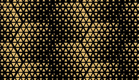 Abstract geometric pattern. Seamless background. Gold and black halftone. Graphic modern pattern. Simple lattice graphic design Zdjęcie Seryjne