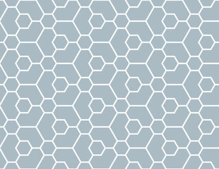 The geometric pattern with lines. Seamless background. White and blue texture. Graphic modern pattern. Simple lattice graphic design 写真素材