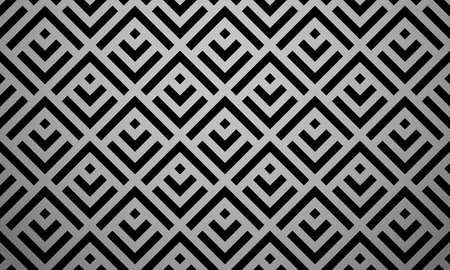 Abstract geometric pattern. A seamless vector background. Black ornament. Graphic modern pattern. Simple lattice graphic design Иллюстрация