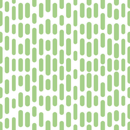 Abstract geometric pattern with stripes, lines. Seamless background. White and green ornament. Simple lattice graphic design