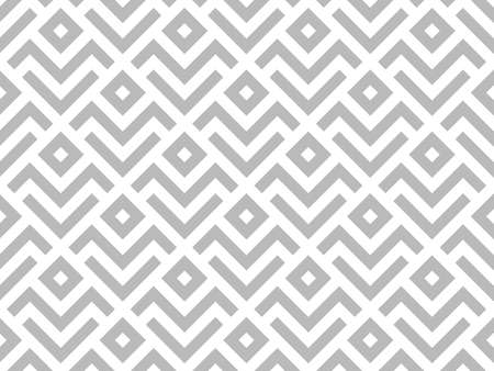 Abstract geometric pattern. A seamless vector background. White and grey ornament. Graphic modern pattern. Simple lattice graphic design. 向量圖像