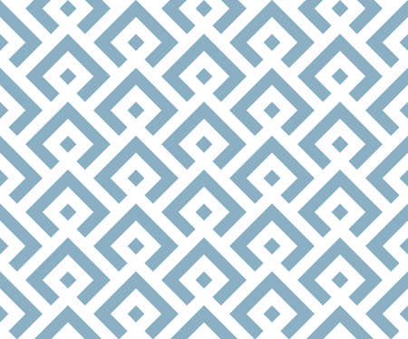 Abstract geometric pattern. A seamless vector background. White and blue ornament. Graphic modern pattern. Simple lattice graphic design Ilustracja