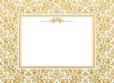 Abstract floral pattern. Perfect for invitations or announcements.