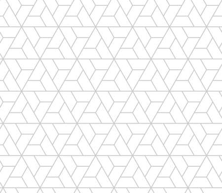 The geometric pattern with lines. Seamless background. White and grey texture. Graphic modern pattern. Simple lattice graphic design,