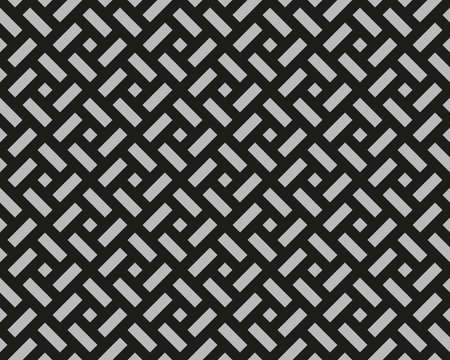 Abstract geometric pattern. A seamless background. Black and grey ornament. Graphic modern pattern. Simple lattice graphic design 版權商用圖片