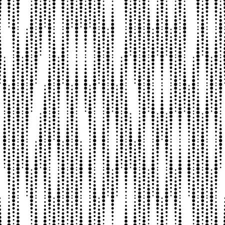 Abstract geometric pattern. A seamless vector background. White and black ornament. Graphic modern pattern. Simple lattice graphic design Векторная Иллюстрация