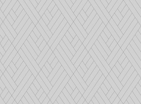 Abstract geometric pattern with stripes, lines. Seamless background. Black and grey ornament. Simple lattice graphic design