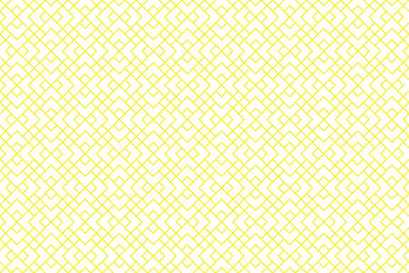 The geometric pattern with lines. Seamless vector background. White and yellow texture. Graphic modern pattern. Simple lattice graphic design Ilustración de vector