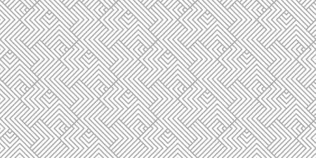 Abstract geometric pattern with stripes, lines. Seamless background. White and gray ornament. Simple lattice graphic design.