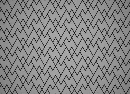 The geometric pattern with lines. Seamless vector background. Black and gray texture. Graphic modern pattern. Simple lattice graphic design Иллюстрация