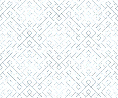The geometric pattern with lines. Seamless vector background. White and blue texture. Graphic modern pattern. Simple lattice graphic design Иллюстрация