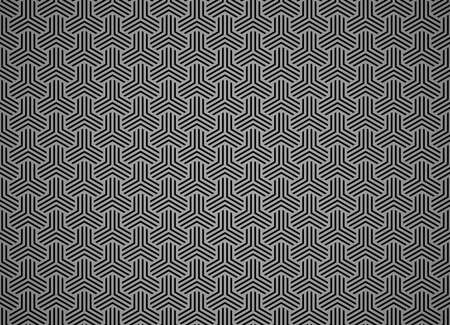 Abstract geometric pattern with stripes, lines. Seamless vector background. Black ornament. Simple lattice graphic design 向量圖像