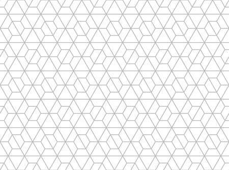 The geometric pattern with lines. Seamless vector background. White and gray texture. Graphic modern pattern. Simple lattice graphic design. Reklamní fotografie - 166905579