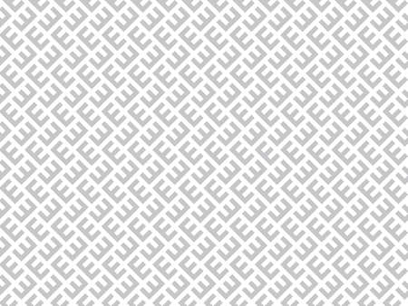 Abstract geometric pattern. A seamless vector background. White and gray ornament. Graphic modern pattern. Simple lattice graphic design. Ilustrace