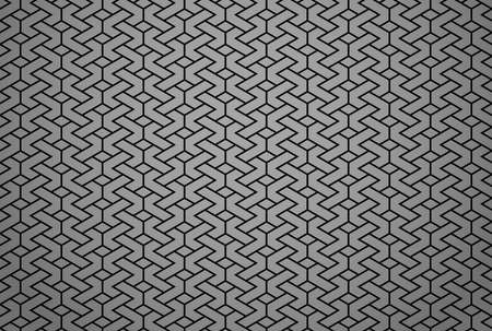 Abstract geometric pattern. A seamless vector background. Black and gray ornament. Graphic modern pattern. Simple lattice graphic design Reklamní fotografie - 167126920