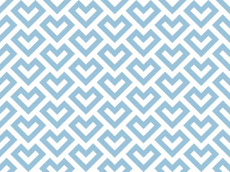 Abstract geometric pattern. A seamless vector background. White and blue ornament. Graphic modern pattern. Simple lattice graphic design 矢量图像