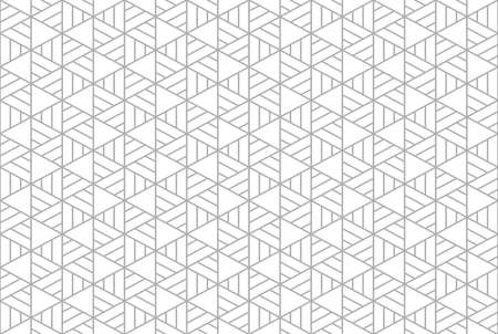 Abstract geometric pattern. A seamless vector background. White and gray ornament. Graphic modern pattern. Simple lattice graphic design. 矢量图像