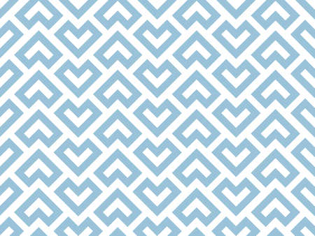 Abstract geometric pattern. A seamless vector background. White and blue ornament. Graphic modern pattern. Simple lattice graphic design Vectores