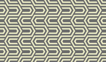 Abstract geometric pattern with stripes, lines. Seamless vector background. Gray ornament. Simple lattice graphic design