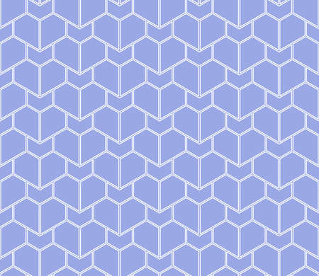 The geometric pattern with lines. Seamless vector background. White and blue texture. Graphic modern pattern. Simple lattice graphic design Vectores