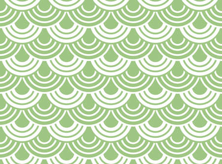 Abstract geometric pattern. A seamless background. White and green ornament. Graphic modern pattern. Simple lattice graphic design Banque d'images