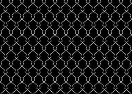 The geometric pattern with lines. Seamless background. White and black texture. Graphic modern pattern. Simple lattice graphic design