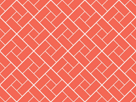 Abstract geometric pattern. A seamless background. White and pink ornament. Graphic modern pattern. Simple lattice graphic design