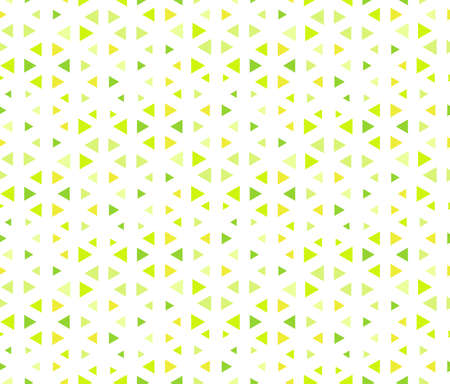 Abstract geometric pattern. A seamless vector background. Colored green ornament. Graphic modern pattern. Simple lattice graphic design