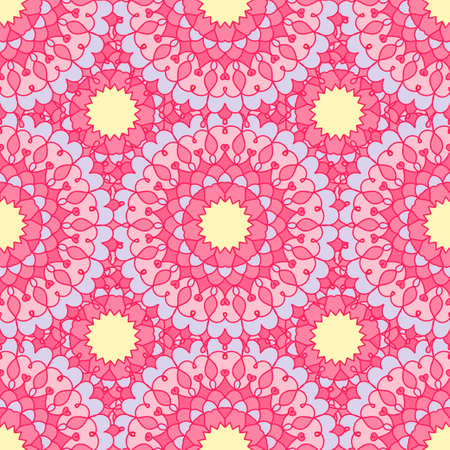 pastel shades: Vintage background pastel shades with ornament mandala. Template frame design for card. Can be used for packaging, invitations, Valentines Day decoration, bag template, etc. Decorative elements. Illustration