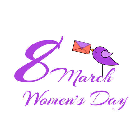 ideal: Womens day design, vector illustration graphic. Ideal as invitation card
