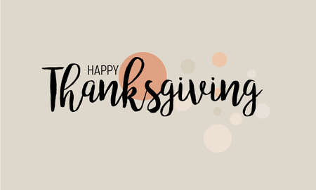 Flat design style Happy Thanksgiving Day