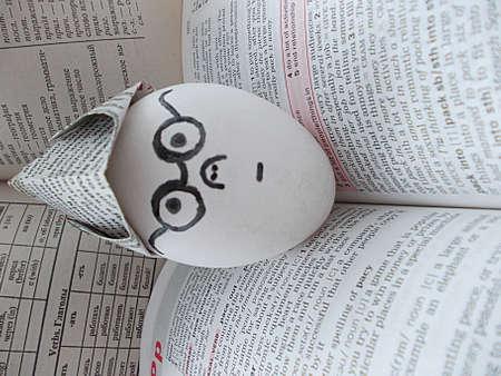 egghead: egghead Stock Photo